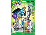 Crayola 95-1045 Color Alive Action Coloring Pages - Skylanders 9SIAD245DX8823