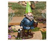 Echo Valley 4194 19.88 in. Watering Bobble head Gnome