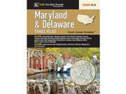 Universal Map 12999 Maryland Delaware State Road Atlas