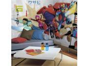 Roommates JL1336M Ultra Strippable Big Hero 6 Xl Chair Rail Prepasted Mural 9SIA00Y4504499