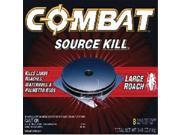 Dial Corporation 51913 Combat Max Large Roach Bait - 8 Pack, Pack Of 12