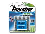 Eveready Battery XR91BP-6 AA Eco Advanced Battery, Pack 6