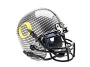 Schutt Sports SCH-720105000-4 Oregon Ducks NCAA Authentic Mini 1-4 Size Helmet - Alternate Carbon Fiber 4