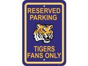 JTD Enterprises AP-PSNC-LSU Florida State Seminoles Parking Sign 9SIA00Y45F0104