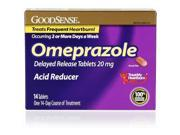 Good Sense Acid Reducer 20 Mg Omeprazole Delayed Release Tablets 14 Count