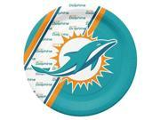 Miami Dolphins Disposable Paper Plates 9SIA00Y4505998