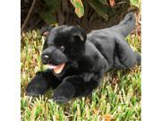 Sunny Toys NP8046T 18 In. Dog Black Puppy Lying Animal Puppet