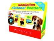 Scholastic Non-Fiction Alphabet Readers Set