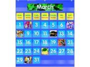 Scholastic Monthly Calendar Pocket Chart