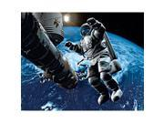 Image of Brewster Home Fashions DM906 Space Cowboy Wall Mural - 63 in.