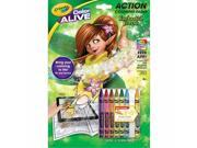Crayola 95-1047 Color Alive Action Coloring Pages - Enchanted Forest 9SIA00Y45C0126