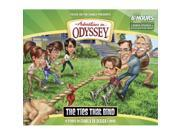 Focus On The Family 11167X Audio CD - Adventures In Odyssey V58 Ties That Bind 4 CD