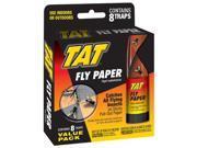 TAT HG 31108 Fly Paper Ribbon 8 Pack