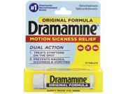Dramamine Motion Sickness Relief Original Formula 50 mg 12 Tablets
