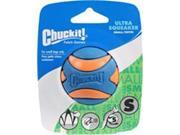 Canine Hardware 012226 Chuck It Ultra Squeaker Ball Dog Toy - Small