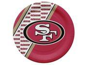San Francisco 49ers Disposable Paper Plates 9SIA00Y4506448