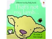 Usborne Thats Not My Lamb Touchy Feely Board Book 9SIA00Y51R6808