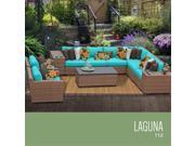 TKC Laguna 11 Piece Outdoor Wicker Patio Furniture Set