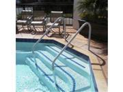Saftron DTP 260 BK Deck to Pool 2 Bend Handrail 60 in. Black