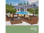 TKC Laguna 8 Piece Outdoor Wicker Patio Furniture Set