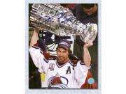 Peter Forsberg Colorado Avalanche Autographed 2001 Stanley Cup 8x10 Photo 9SIA00Y51F8090