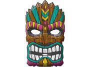 Amscan 393970 Tiki Mask - Pack of 12 9SIA00Y5128634
