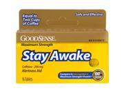 Good Sense 200 mg Maximum Strength Stay Awake Tablets 16 Count Case of 12