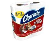 Charmin 94106 4 Double Roll Ultra Soft Bath Tissue, Pack Of 12