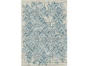 DynamicRugs KI2476114119 76114 Kingston Collection 2 x 3.5 in.Traditional Rectangle Rug Cream