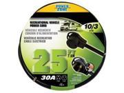 Power Zone ORV30925 Rv Power Cord 10 By 3, 25 Ft. Stw 30A 9SIA00Y5172050