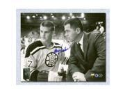 Harry Sinden Boston Bruins Autographed Coaching Bobby Orr 8x10 Photo 9SIA00Y51F6163