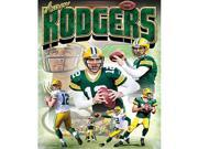 Masterpieces 11481 Aaron Rogers Green Bay Pouch Puzzle - 100 Piece 9SIA00Y5141153