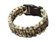 Wellington Cordage NPCB550CS Small Survival Bracelet Camouflage