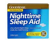 Good Sense Night Time Sleep Aid 25 mg Mini Caplet 24 Count Case of 24