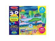 Melissa And Doug 9376 Easy-to-See 3-D Reusable Sticker - Habitats 9SIA00Y51R3785