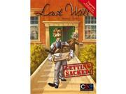 Czech Games Edition Inc 00025 Last Will - Getting Sacked 9SIA00Y5146369