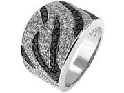 Doma Jewellery MAS02347 6 Sterling Silver Ring with Cubic Zirconia Size 6