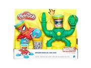 Hasbro HSBB9364 Play-Doh Marvel Spiderman Vs Doc Ock - Set of 4 9SIV06W6B68605