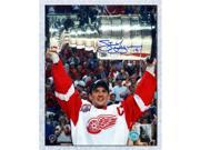 AJ Sports World YZES10603E 16 x 20 in. Steve Yzerman Detroit Red Wings Signed 2002 Stanley Cup Champion Photo 9SIV06W6A31522