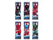 Hasbro HSBB9710 Spider Titan Hero Series Web Warriors - Set of 8 9SIA00Y5TM6412