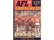 Real Deal Memorabilia LDawsonBook-1-PSA Len Dawson Signed - Autographed AFL to Arrowhead Book with PSA & DNA Authenticity - Kansas City Chiefs 9SIA00Y5TP5120