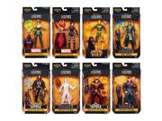 Hasbro HSBB7439 6 in. Doctor Strange Marvel Legends Figure, Assorted Colors - Set of 8 9SIA00Y5TR1476