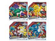 Hasbro HSBB1197 Jurassic Park Hero Mashers Hybrid Reveal Dinos, Assorted Colors - Set of 8 9SIA00Y5TR1239