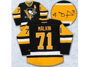 AJ Sports World MALE13300A Evgeni Malkin Pittsburgh Penguins Autographed Retro Premier Hockey Jersey 9SIA00Y5TR6664