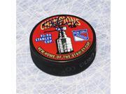 AJ Sports World LARS103051 Steve Larmer New York Rangers Autographed 1994 Stanley Cup Puck 9SIV06W6A00755