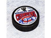 AJ Sports World SAVD10505A Denis Savard Montreal Canadiens Autographed 1993 Stanley Cup Puck 9SIV06W6A00740