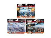 Hasbro HSBB3496 Star Wars Episode 7 Micro Machines Deluxe Vehicle, Assorted Colors - Set of 12 9SIV06W6AX5322
