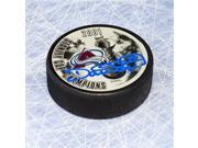 AJ Sports World REID16605A Dave Reid Colorado Avalanche Autographed 2001 Stanley Cup Puck 9SIA00Y5TR6657
