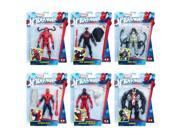 Hasbro HSBC0440 6 in. Spider Man Action Figures - 8 Count 9SIV06W6CZ6304