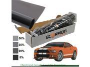 Scorpion DS20B36 36 in. x 100 ft. Window Tint Desert Series 2 Ply 20 Percent Roll 2 Ply Extruded Dye